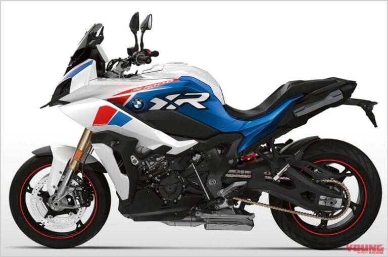 '21 BMW S1000XR|ライトホワイト×レーシングブルーマット×レーシングレッド