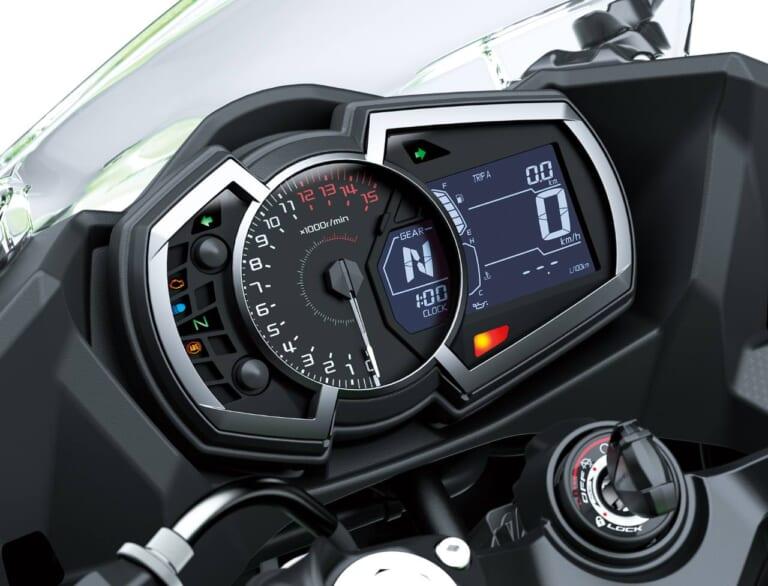 '22 カワサキ ニンジャ400|スピードメーター