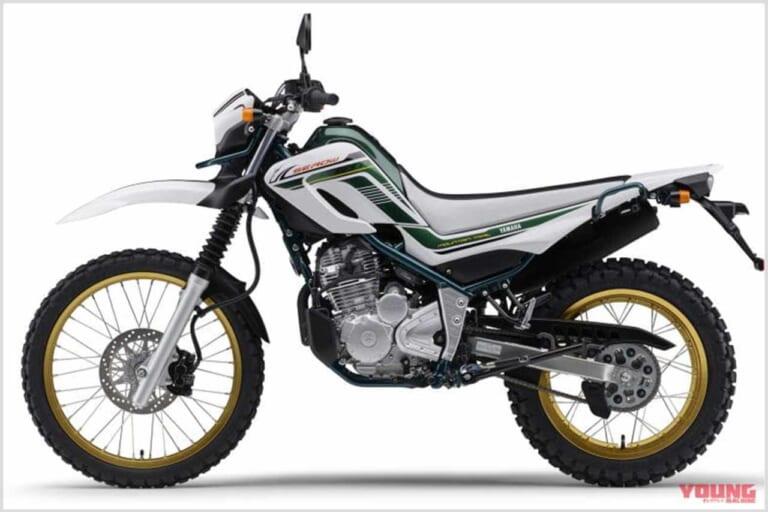 '20 ヤマハ セローファイナルエディション パープリッシュホワイトソリッド1(ホワイト×グリーン)