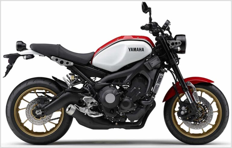 ヤマハ XSR900|ラジカルホワイト