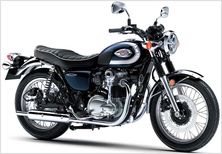 '21 カワサキW800 メタリックオーシャンブルー