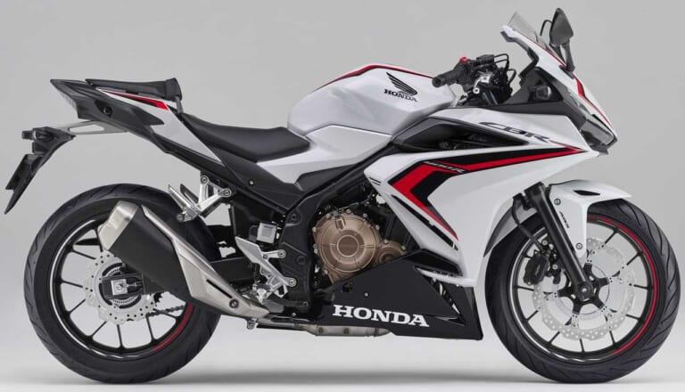 '21 ホンダ CBR400R ホワイト