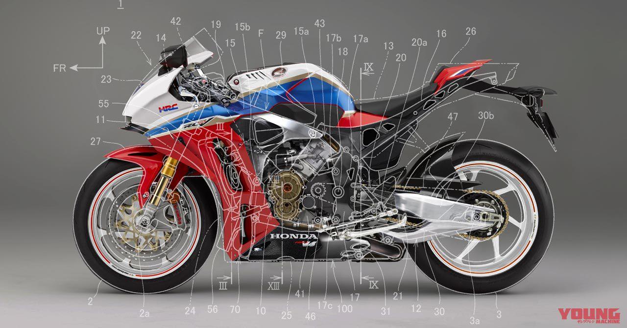Honda新型v4開発にgoサインか Webヤングマシン