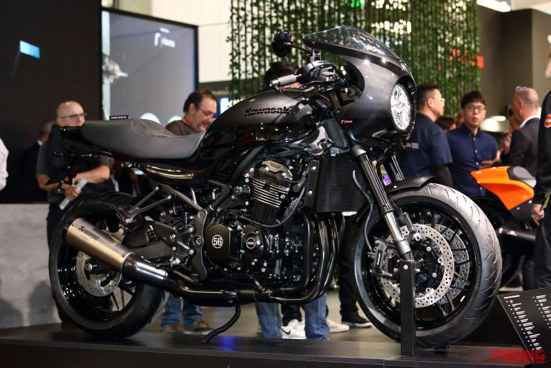 Z900RS CAFE Customized by rizoma