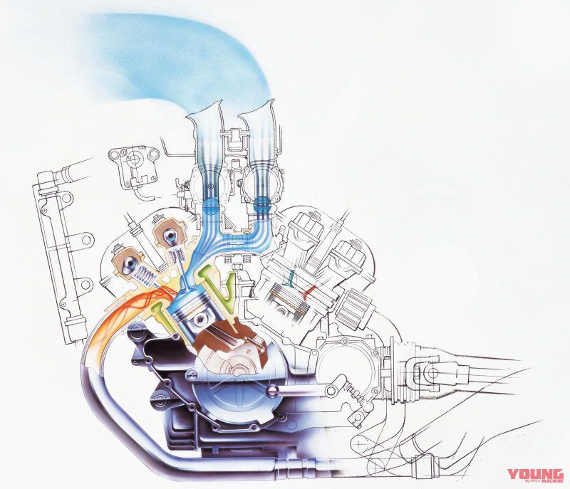 ヤマハ V-MAX Vブースト