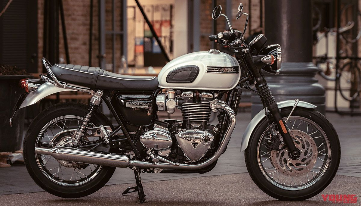 BONNEVILLE T120 DIAMOND EDITION(2019)