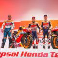 【MotoGP】25周年のレプソルホンダチーム体制発表にレジェンドライダーが集う!