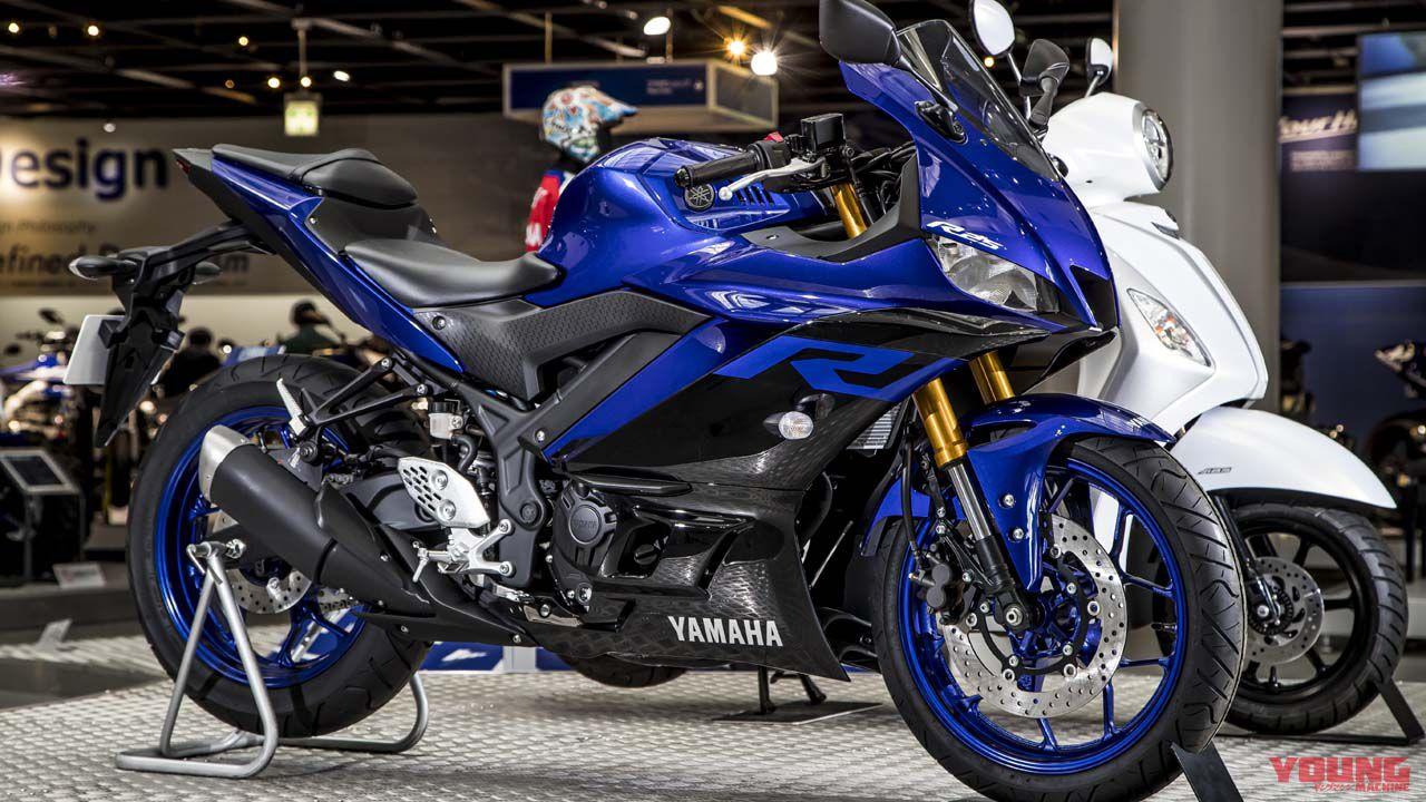 ヤマハ2019新型yzf R25 Yzf R3は3月下旬に国内発売 Webヤングマシン