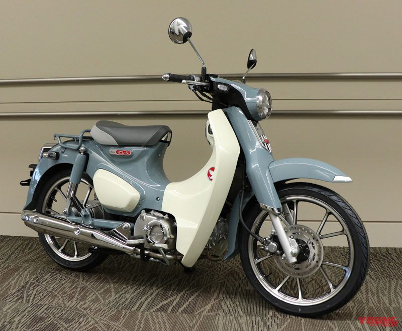 New Color Of Super Cub C125 Monkey 125 Appears Motorcycle News