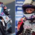 岡崎静夏、Moto3挑戦を語る【苦戦するのは分かってた。でも自分を確かめたかった】