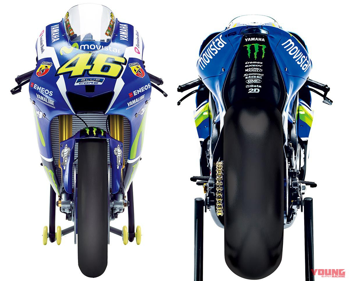 YAMAHA YZR-M1 [1/4 SCALE MODEL]